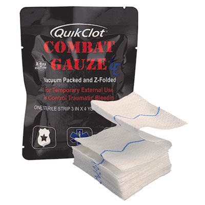 QuikClot Combat Gauze® LE