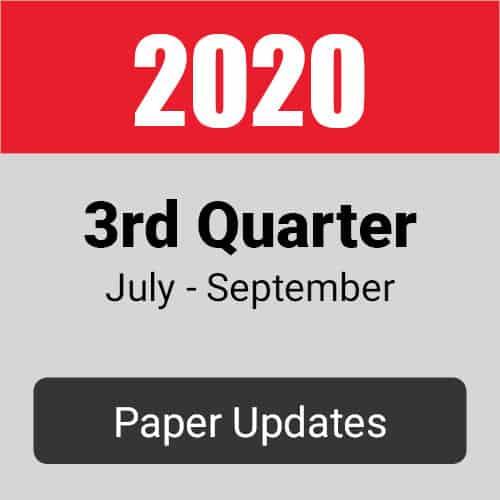 3rd quarter 2020 forex